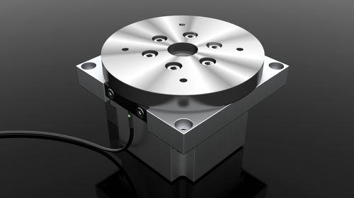 table rotative électrique / horizontale / pour tournage / pivotante