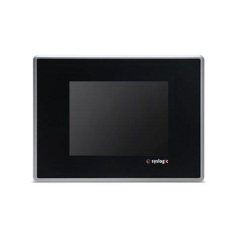 Panel PC TFT LCD / à écran tactile résistif / DM&P Vortex86DX / compact HMI system | Resistive Touch TFT/HB057RU41 Syslogic GmbH