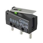 micro-rupteur à levier / unipolaire / électromécanique