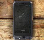 smartphone industriel GSM / IP67 / tactile / robuste