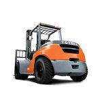 chariot élévateur à contrepoids / GPL / diesel / à conducteur porté assis