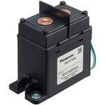 relais électromécanique DC / haute tension / compact