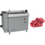 cubeuse pour viande / pour poissons / compact / en acier inoxydable