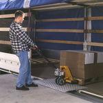 rampe de chargement pour quai / mobile / en aluminium