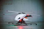 drone hélicoptère / pour la prise de vue aérienne / d'inspection / de cartographie