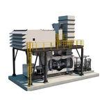 turbine à gaz / à deux arbres / pour la production d'électricité / pour applications d'entraînements mécaniques
