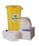kit d'urgence anti-pollution d'hydrocarbures / pour produits dangereux