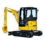 pelleteuse mini / sur chenilles / diesel / pour chantier de construction