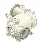 compresseur de gaz / stationnaire / centrifuge / lubrifié
