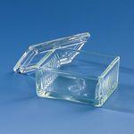 cuve en verre / à coloration de Schiefferdecker
