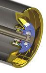 Rouleau de renvoi avec roulements / pour bande transporteuse CEMA B Syntron Material Handling