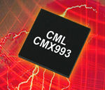 Circuit intégré modem RF / pour l'industrie CMX993, CMX993W CML Microcircuits