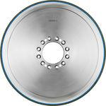 meule de traitement de surface / cylindrique / CBN à liant céramique / pour vilebrequins
