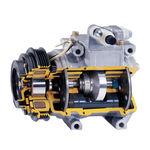 compresseur d'air / stationnaire / à moteur électrique / à piston