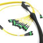 assemblage de câbles fibre optique MPO / pré-assemblés