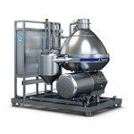 séparateur centrifuge / de lait / pour l'industrie agroalimentaire / vertical
