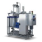 machine de nettoyage automatique / à eau / pour l'industrie agroalimentaire