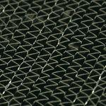 fibre en fibre de carbone / en polyester / en toile