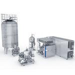 échangeur de chaleur liquide / liquide / liquide / gaz / stérile / pour l'industrie agroalimentaire