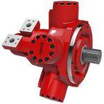 moteur hydraulique à piston radial / à cylindrée variable / faible vitesse / à fort couple