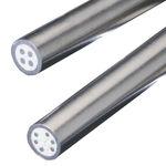 câble électrique d'alimentation / haute température / résistant au feu / rond
