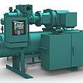 compresseur frigorifique à vis / pour la réfrigération industrielle - RXF