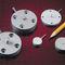 capteur de force traction compression / type bouton / alliage d'aluminium / analogique