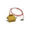 collecteur tournant de transmission de signaux / pour antenne radar / compact