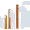 Borne de contrôle d'accès / fixe / en aluminium StrongLine Alphatronics