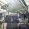 chambre d'essai d'étanchéité aux projections d'eau / avec fenêtre / pour machine d'essai de matériaux