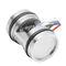 capteur de pression différentielle / piézorésistif / fileté / en acier inoxydable
