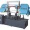 Scie à ruban / pour tuyaux / avec système de refroidissement / avec convoyeur à rouleaux CE 350Hx650W GY4235/65 Zhejiang Weiye Sawing Machine Co., Ltd