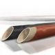 gaine tressée / pour câbles / isolante / fibre de verre