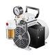 pompe à vide à piston oscillant / sans huile / mono-étagée
