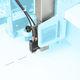 appareil de marquage à jet d'encre / pour textiles
