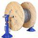 cric mécanique / pour élévation / pour applications lourdes / pour touret