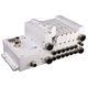 distributeur pneumatique à tiroir / à commande directe / en aluminium / modulaire