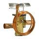 vanne thermostatique d'expansion / en laiton / en acier inoxydable / pour climatisation