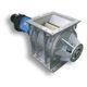 écluse rotative pour transport pneumatique / pour matériau en vrac / socle carré / antidéflagrante