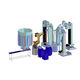 cellule robotisée de déchargement / de chargement / de polissage / pour centre d'usinage