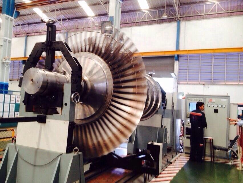 équilibrage turbine ventilateur