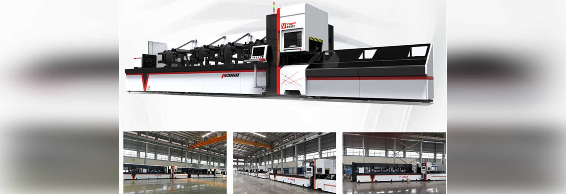 700w 1000w 2000w 3000w Cnc Fiber Laser Pipe Cutting Machine pour tube rond / tube carré / tube rectangulaire