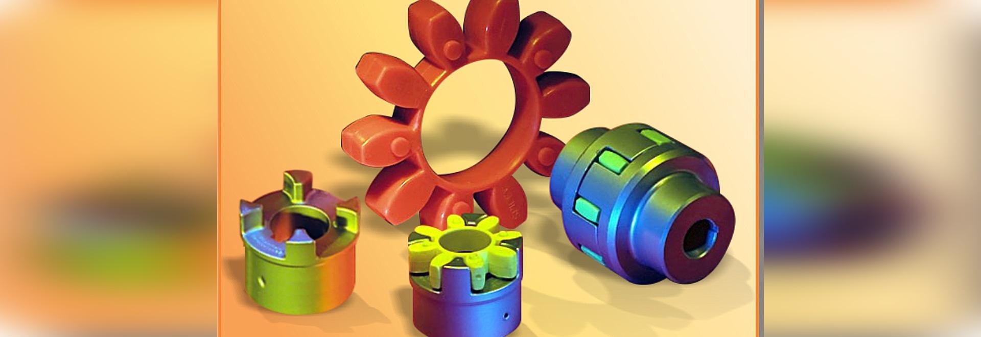 Accouplements d'arbres torsionally flexibles de ® de Spidex