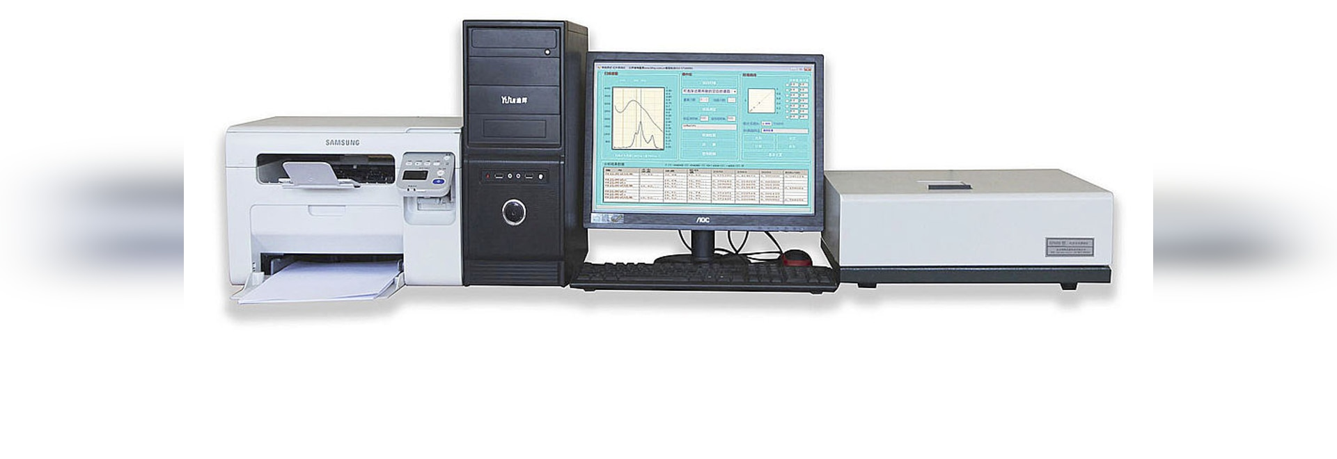 Analyseur infrarouge d'huile de spectroscopie