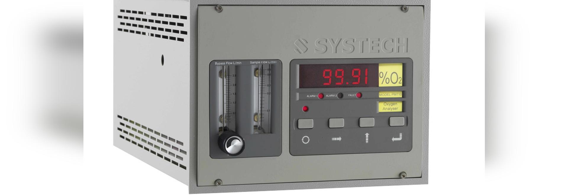 Analyseur paramagnétique de l'oxygène PM700