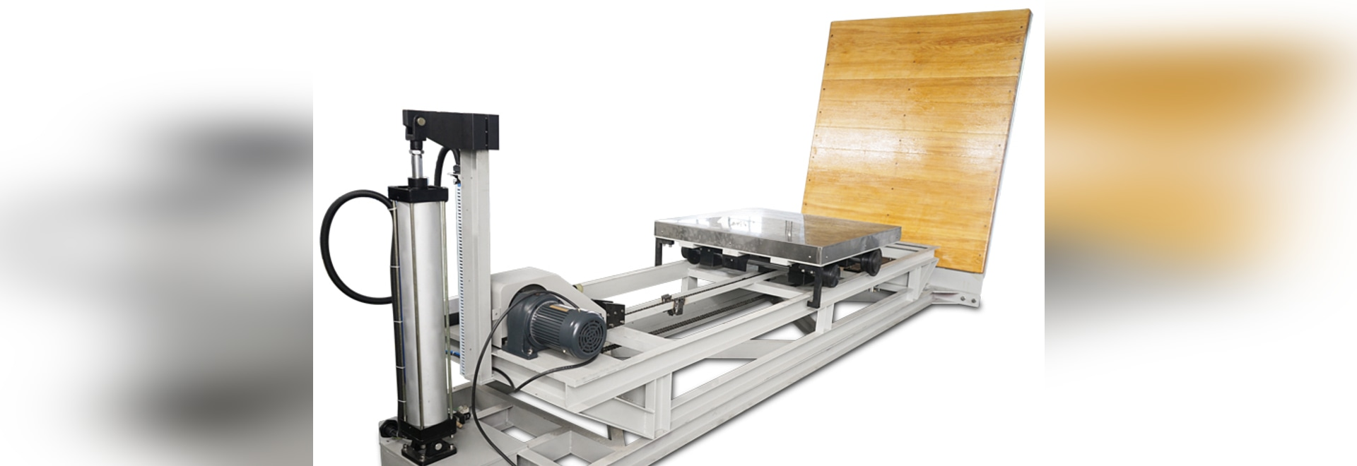 appareil de contrôle de empaquetage d'impact de pente