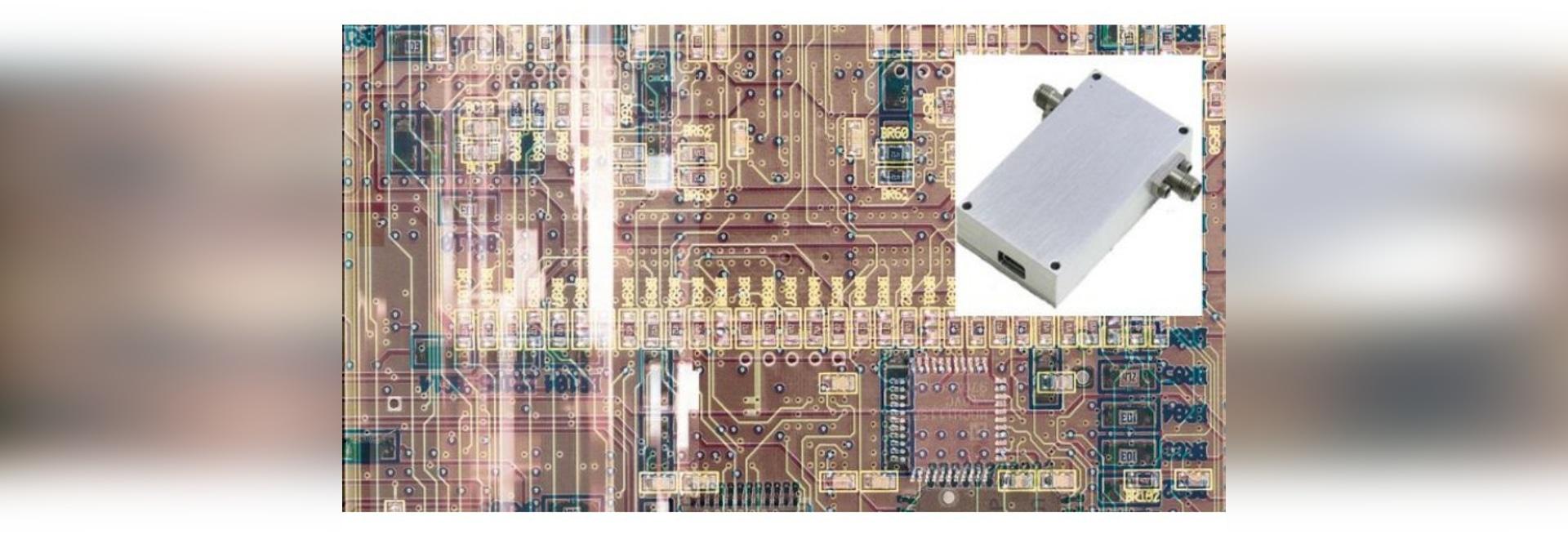 Atténuateur numérique à commande variable 60 ou 90 dB à 6 GHz