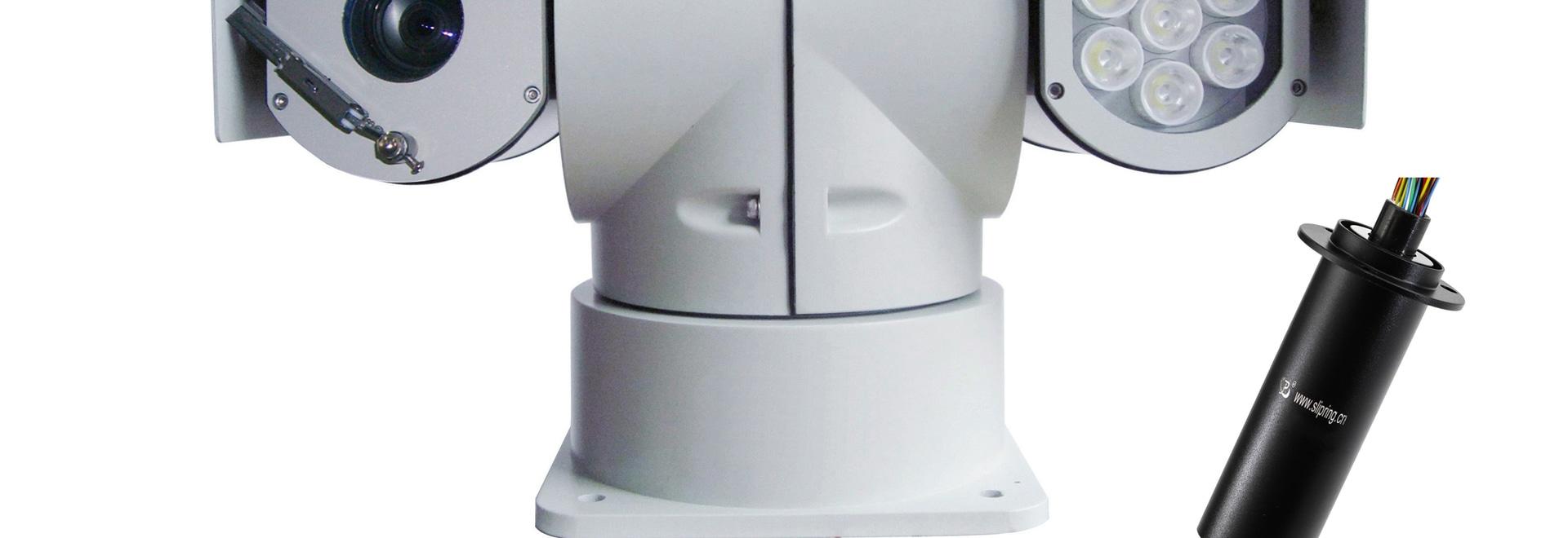 Bague collectrice de JINPAT pour la casserole montée sur véhicule et l'inclinaison de caméra