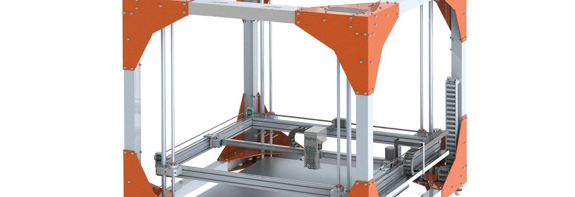 BigRep et Bosch Rexroth Partnering jusqu'à l'impression du cartel 3D