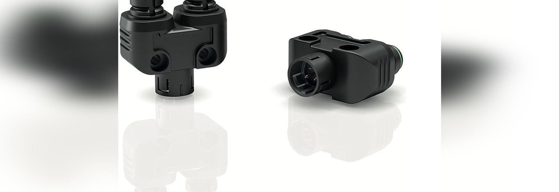 Binder USA annonce un distributeur double encliquetable IP67 pour les connecteurs circulaires miniatures de la série 720